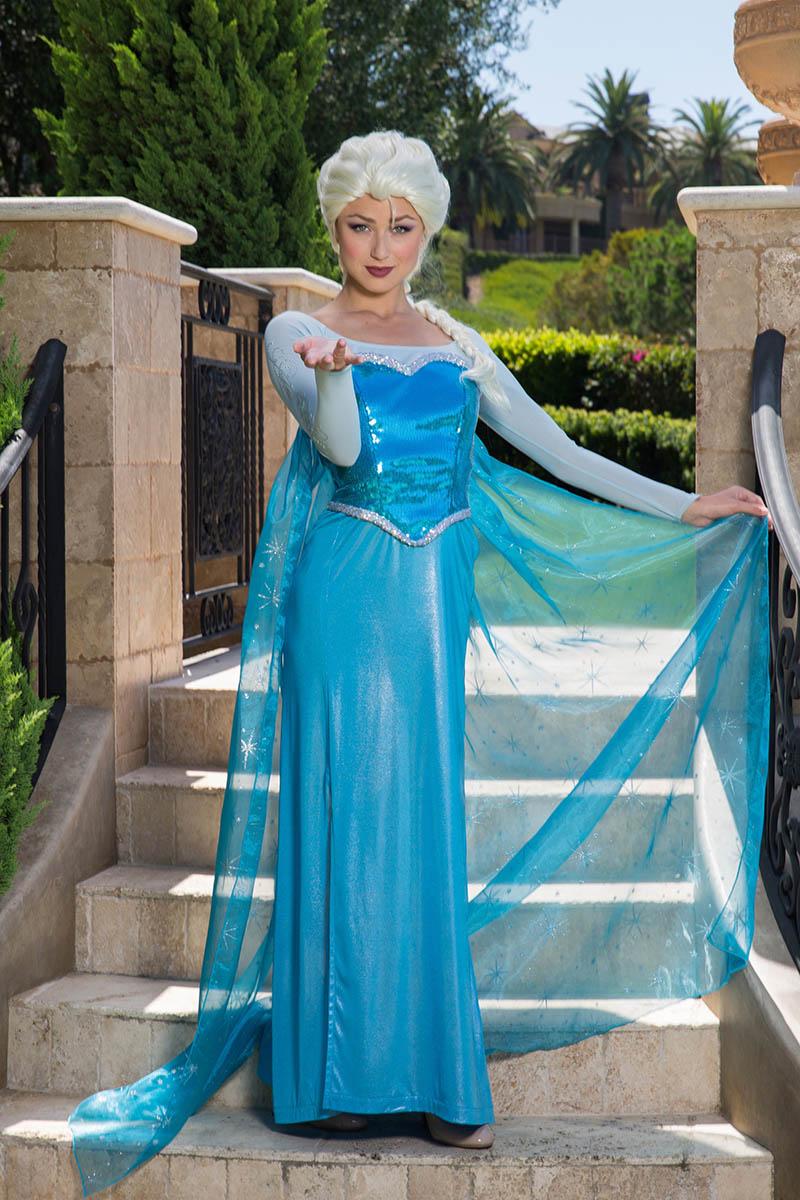 Frozen elsa party character for kids in austin