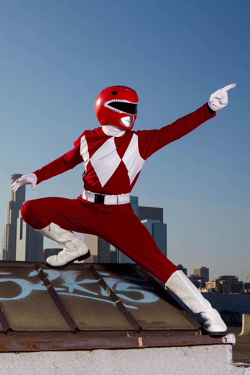 Best power ranger party character for kids in austin